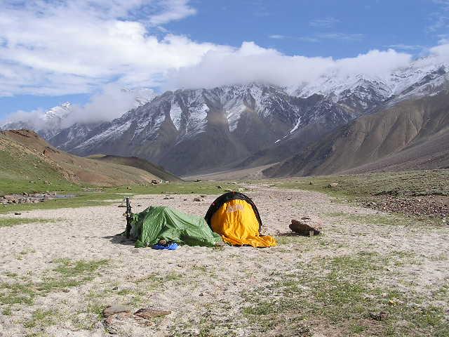 Chandra Tal Camping